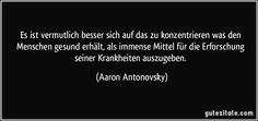 antonovsky salutogenese - Google-Suche Medicine, Cards Against Humanity, Google, Search, Quotes, Health, Medical