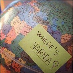 One major universal problem: maps always seem to forget Narnia!