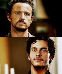 These two men = my life Heaven on earth is being stranded with one or both of them and no one else.
