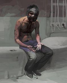 ArtStation - Wounded , Faraz Shanyar shared via https://chrome.google.com/webstore/detail/design-hunt/ilfjbjodkleebapojmdfeegaccmcjmkd?ref=pinterest