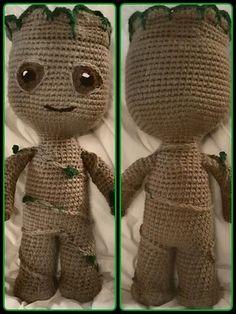 Bichinhos de Crochê - Bebê Groot Amigurumi - YouTube | 314x236