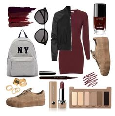 """""""Fall in the spring"""" by angelica-n-davis on Polyvore featuring A.L.C., Joshua's, Pieces, Rick Owens, Urban Decay, Marc Jacobs, Chanel, Yves Saint Laurent and Serge Lutens"""