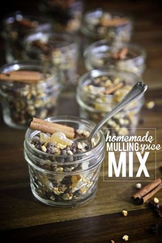Share Tweet Pin Mail Homemade Mulling Spice Mix makes 8- 4 oz. portions 16 cinnamon sticks, broken in half 1/2 whole cloves 1/4 cup ...