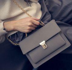 Womens Fashion Leather Shoulder Bag Female Casual Crossbody Bag Women Messenger Bags Chic Handbag Gift 16