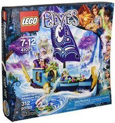 Reilly has for 6th bday - Amazon.com: LEGO Elves Naida's Epic Adventure Ship 41073: Toys & Games