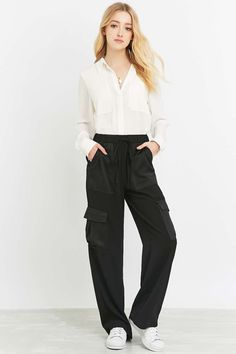 Light Before Dark Utility Flood Trousers