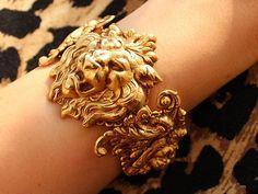 Queen Ursula's lion bracelet