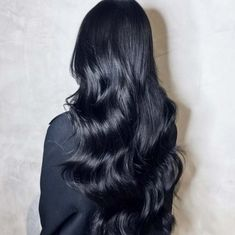 Jet Black 100% Remy Clip in Human hair extensions 250gr 24inch