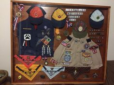 Cub Scouts Shadow Box
