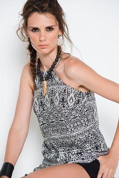 Sateen · Kadın Tekstil  - Ekru Siyah Bluz 233-SATEEN204-001339 %50 indirimle 19,99TL ile Trendyol da