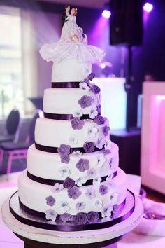 Wedding cake by Suus79 - http://cakesdecor.com/cakes/285132-wedding-cake