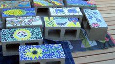 Tegels breken en tips mozaieken