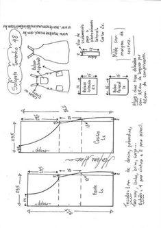 Сарафан, выкройка на размеры с 36 по 50 (евр.).  #простыевыкройки #простыевещи #шитье #сарафан #выкройка