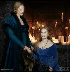 Love Elizabeth's dress the colour is so pretty and Jacquetta's