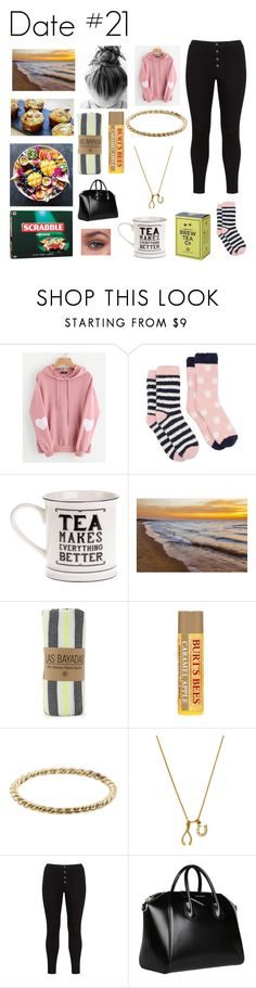 """""""Date #21"""" by lizzie-raye ❤ liked on Polyvore featuring WithChic, Joules, Las Bayadas, Burt's Bees, Luna Skye, Chrysalis, Lost Ink, Givenchy and Date21"""