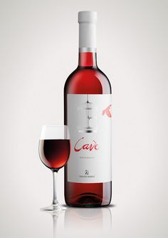 Cavè - One Night Rose Wine on Packaging of the World - Creative Package Design Gallery