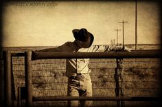 Cowboy Rustic Country Texas Fine Art Photograph by 3LPhotography