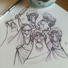 Monday morning #coffeesketch n1251, more random #faces sketch #15minartchallenge #drawing  #art #draw #draws #cartoon #drawingoftheday #dailydrawing #artwork #dailyart #artoftheday #concept #drawing #arts #sketchbook #conceptart #arts #doodle #illustration #sketch #instaart #instadraw #instaartist #instadaily #sketchbook