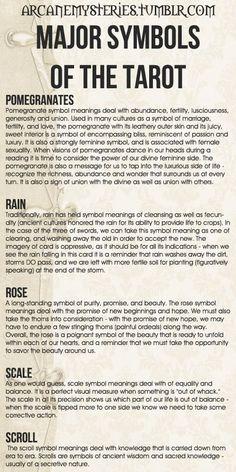 tarot symbols