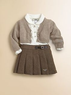 Armani Junior Baby girl outfit.  This is perfection.