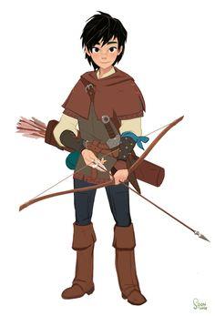 personal project -Robin Hood.2015, SoonSang Hong on ArtStation at https://www.artstation.com/artwork/personal-project-robin-hood-2015