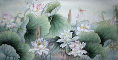 Lotus,69cm x 138cm(27〃 x 54〃),2803004-z