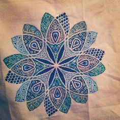 Cross stitch mandala moving along. | by dawnkristal