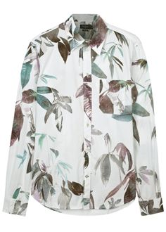 Paul Smith Jeans white cotton shirt