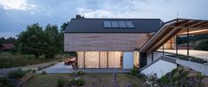 architecture ::: by kurt hoerbst Modern Floor Plans, Passive House, Steel House, Steel Buildings, Architectural Digest, Home Fashion, Cladding, Modern Contemporary, Modern Farmhouse