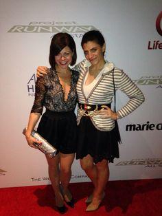 With my plus one, my bestie Danielle