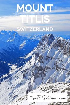 Mount Titlis is the highest glacier excursion destination in central Switzerland and it's a great place to visit as a family. Enter the eternal ice cave, walk on Europe's highest suspension bridge, enjoy the most spectacular views over the Alps or go gliding in the snow park...