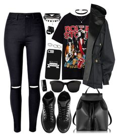 """""""Untitled #4368"""" by natalyasidunova ❤ liked on Polyvore featuring WithChic, Kenzo, Balmain, Le Parmentier, STELLA McCARTNEY, Marc by Marc Jacobs, New Look and Chanel"""