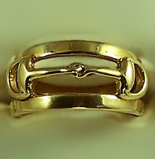 The Gorgeous Horse Jewelry! - Classic Bit Ring M2411    Love This Ring!!