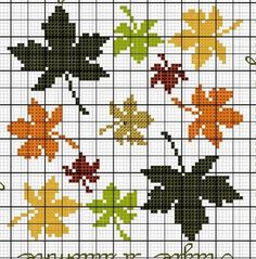 Fall Cross Stitch, Butterfly Cross Stitch, Mini Cross Stitch, Cross Stitch Rose, Cross Stitch Flowers, Cross Stitch Charts, Cross Stitch Designs, Cross Stitch Patterns, Cross Stitching