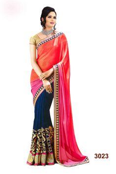 Buy This Designer Saree : http://gunjfashion.com/ Watsapp Now : 90998 23943