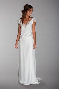 Les robes de mariée de Fabienne Alagama - Collection 2016 | Modèle : Mérédith | Crédits : Fabienne Alagama | Donne-moi ta main - Blog mariage