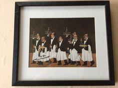 Charge of the Flower Bottle Brigade by Guy Buffet Lithograph Print, Hand Signed