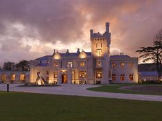 Lough Eske Castle Crowned Castle Wedding Venue Of The Year. Lough Eske Castle enjoyed a double celebration at last night's prestigious WeddingsOnline.ie awards ceremony, where the five-star rural haven was crowned Castle Venue of the Year. Castle Hotels In Ireland, Castles In Ireland, Wild Style, Places To Stay In Ireland, Stay In A Castle, Romantic Places, Beautiful Places, Beautiful Life, Simply Beautiful