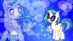 Vinyl Scratch (DJ Pon3) wallpaper