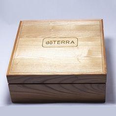 Large wood Urban Box - holds 66 oils