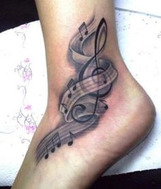 Music Tattoos Designs And Ideas