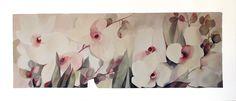 Orchidee (100 x 50 cm) acquerello