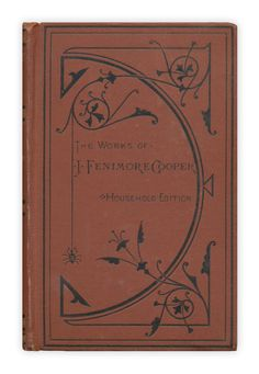 """""""Home as Found"""" by James Fenimore Cooper. Published by Houghton Mifflin"""
