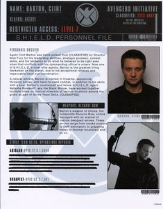 S.H.I.E.L.D. Files - Marvel Cinematic Universe Wiki - Wikia