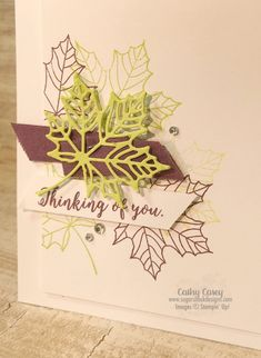 Colorful Seasons Stampin' Up Halloween Cards, Fall Halloween, Fall Cards, Christmas Cards, Sympathy Thank You Cards, Hand Stamped Cards, Thanksgiving Cards, Get Well Cards, Card Tutorials