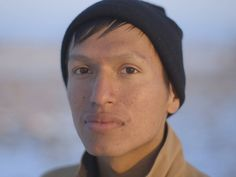 PHOTO: Danny Grassrope, 25, Lower Brule Sioux, International Indigenous Youth Council Member