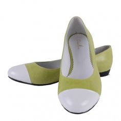 Balerini din Piele Naturala Ecaterina Mary Janes, Footwear, Flats, Shoes, Fashion, Green, Loafers & Slip Ons, Moda, Zapatos