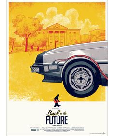 BACK TO THE FUTURE Mondo Poster. Mondo has unveiled a triptych poster for the Back to the Future trilogy. Poster will go on sale March Omg Posters, Film Posters, Awesome Posters, The Future Movie, Back To The Future, Mondo Tees, Blockbuster Movies, Kunst Poster, Poster Design