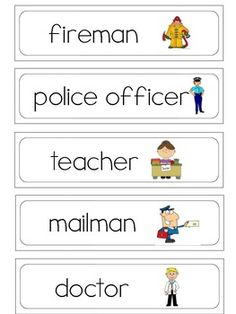 This free download includes 35 printable spring word wall words free pre kk word wall word pack that i would have up during our community helper unit sciox Gallery