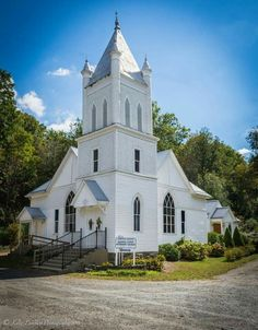 This is Worth's Chapel in Creston, North Carolina. Built around 1901. Is such a beautiful Church.   See more of my photos on my Facebook page at Kelly Lambert Photography.